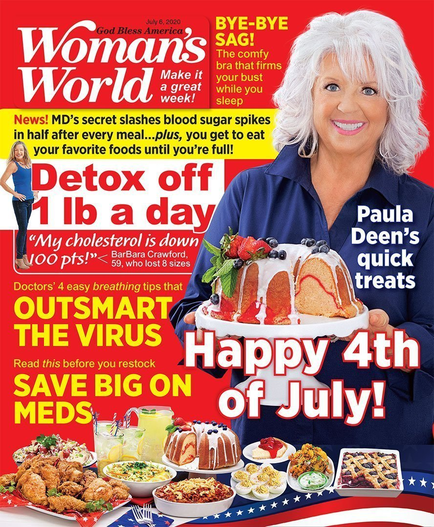 Kathy Lindert Featured in the Latest Issue of Woman's World